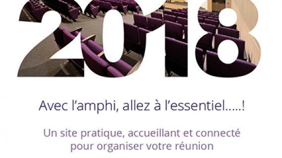 Toute l'équipe de l'amphi Toulouse-Garonne vous souhaite une belle année 2018 !